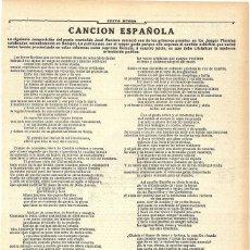 Coleccionismo de Revistas y Periódicos: 1911 HOJA REVISTA POETA MONTAÑÉS JOSÉ MONTERO IGLESIAS PREMIO JUEGOS FLORALES DE BADAJOZ. Lote 194197603