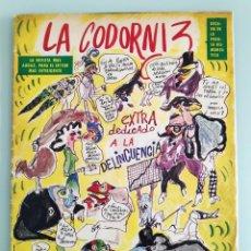 Coleccionismo de Revistas y Periódicos: REVISTA LA CODORNIZ Nº 1477. Lote 194214608