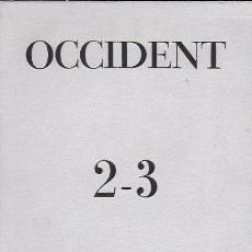 Coleccionismo de Revistas y Periódicos: OCCIDENT 2-3 JUNY-JULIOL DE 1949.21X15CM. 80 P. 112 P.. Lote 194220873