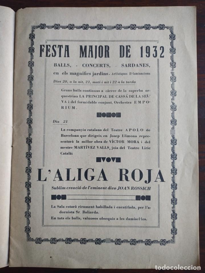 Coleccionismo de Revistas y Periódicos: Revista Any I nº1, Nou Esclat 1932 Festa Major Ateneu Santboia socie l´univers Sant Boi de Llobregat - Foto 5 - 194227313