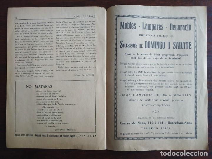 Coleccionismo de Revistas y Periódicos: Revista Any I nº1, Nou Esclat 1932 Festa Major Ateneu Santboia socie l´univers Sant Boi de Llobregat - Foto 11 - 194227313