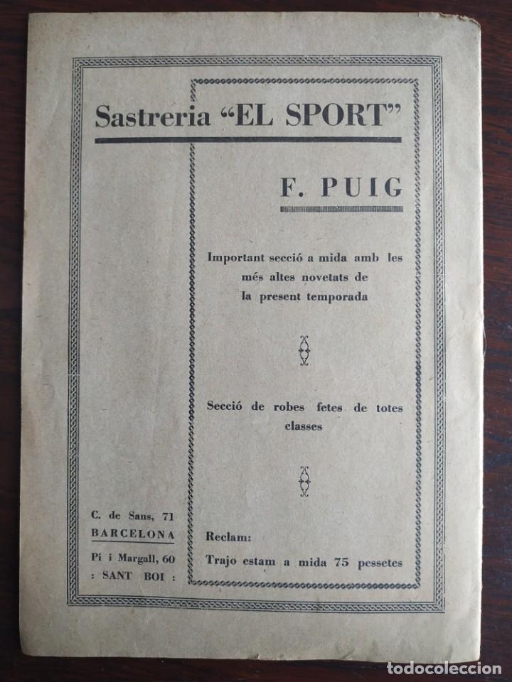 Coleccionismo de Revistas y Periódicos: Revista Any I nº1, Nou Esclat 1932 Festa Major Ateneu Santboia socie l´univers Sant Boi de Llobregat - Foto 12 - 194227313