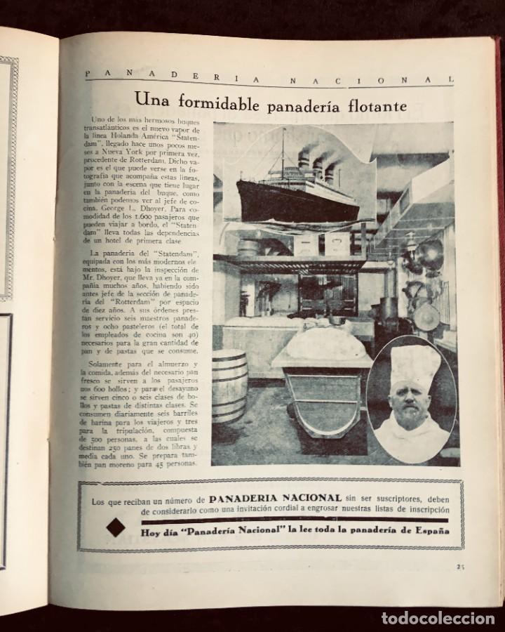 Coleccionismo de Revistas y Periódicos: PANADERIA NACIONAL - AÑO 1931 COMPLETO - PAN - HORNOS - AMASADORAS - LEVADURA - PASTELERÍA - Foto 11 - 194229515