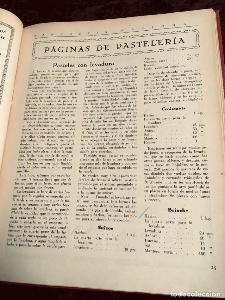 Coleccionismo de Revistas y Periódicos: PANADERIA NACIONAL - AÑO 1931 COMPLETO - PAN - HORNOS - AMASADORAS - LEVADURA - PASTELERÍA - Foto 12 - 194229515