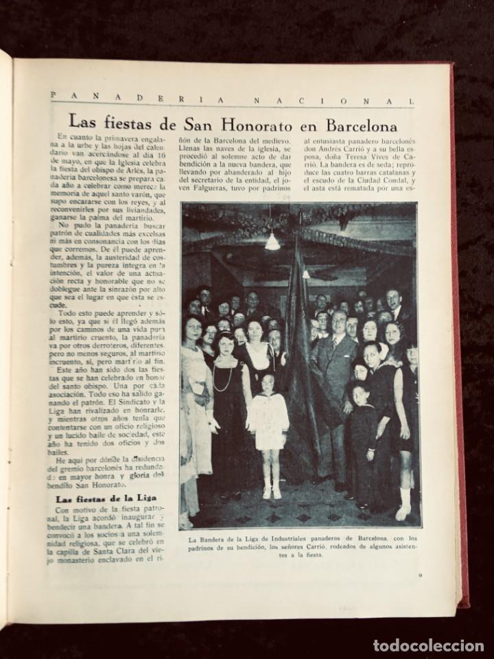 Coleccionismo de Revistas y Periódicos: PANADERIA NACIONAL - AÑO 1931 COMPLETO - PAN - HORNOS - AMASADORAS - LEVADURA - PASTELERÍA - Foto 13 - 194229515