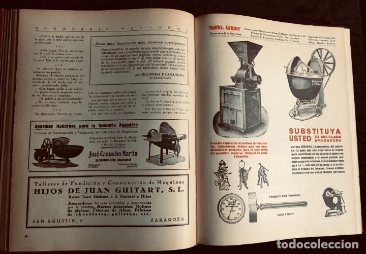 Coleccionismo de Revistas y Periódicos: PANADERIA NACIONAL - AÑO 1931 COMPLETO - PAN - HORNOS - AMASADORAS - LEVADURA - PASTELERÍA - Foto 14 - 194229515