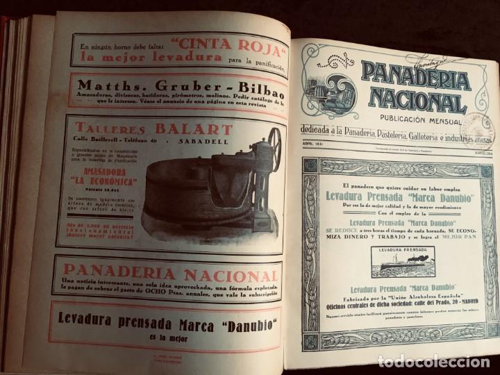 Coleccionismo de Revistas y Periódicos: PANADERIA NACIONAL - AÑO 1931 COMPLETO - PAN - HORNOS - AMASADORAS - LEVADURA - PASTELERÍA - Foto 15 - 194229515
