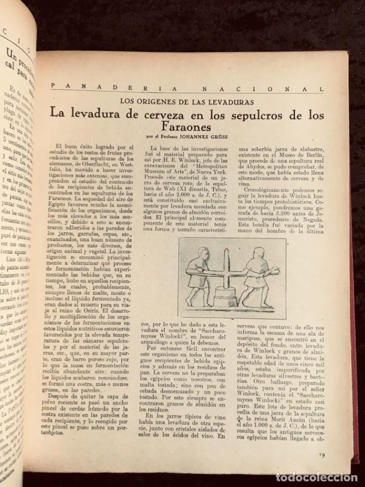 Coleccionismo de Revistas y Periódicos: PANADERIA NACIONAL - AÑO 1931 COMPLETO - PAN - HORNOS - AMASADORAS - LEVADURA - PASTELERÍA - Foto 16 - 194229515