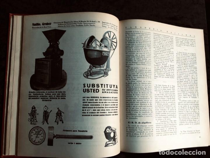 Coleccionismo de Revistas y Periódicos: PANADERIA NACIONAL - AÑO 1931 COMPLETO - PAN - HORNOS - AMASADORAS - LEVADURA - PASTELERÍA - Foto 18 - 194229515
