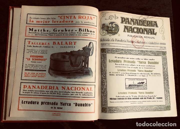 Coleccionismo de Revistas y Periódicos: PANADERIA NACIONAL - AÑO 1931 COMPLETO - PAN - HORNOS - AMASADORAS - LEVADURA - PASTELERÍA - Foto 20 - 194229515