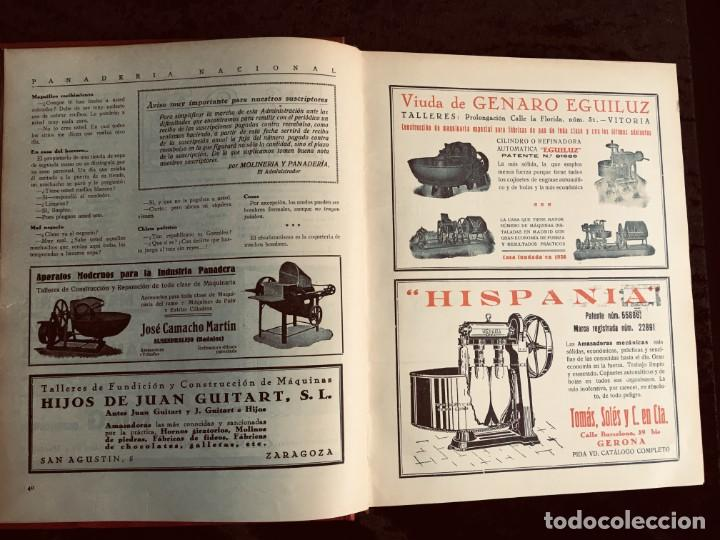 Coleccionismo de Revistas y Periódicos: PANADERIA NACIONAL - AÑO 1931 COMPLETO - PAN - HORNOS - AMASADORAS - LEVADURA - PASTELERÍA - Foto 21 - 194229515