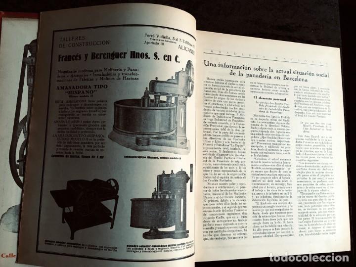 Coleccionismo de Revistas y Periódicos: PANADERIA NACIONAL - AÑO 1931 COMPLETO - PAN - HORNOS - AMASADORAS - LEVADURA - PASTELERÍA - Foto 22 - 194229515