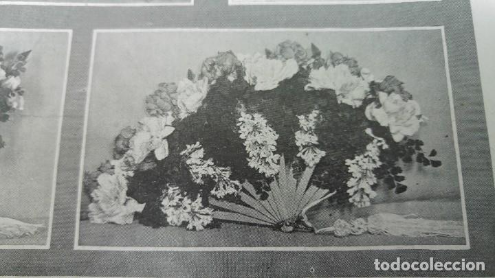 Coleccionismo de Revistas y Periódicos: 66 MUERTOS CINE VILLAREAL ABANICOS FLORES GIBRALTAR MALAGA MENENDEZ PELAYO ENTIERRO SANTANDER 1912 - Foto 5 - 194233378