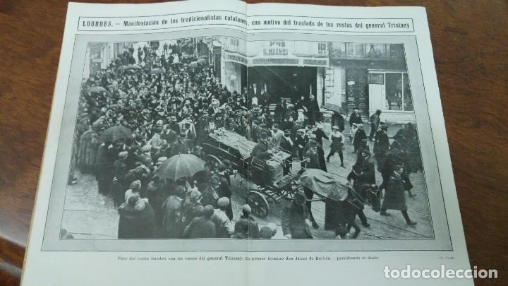 EXHUMACION GENERAL TRISTANY ARDEVOL CASTILLO ARAMPRUNYA EXPLORADORES ESPAÑA REVISTA AÑO 1913 (Coleccionismo - Revistas y Periódicos Antiguos (hasta 1.939))
