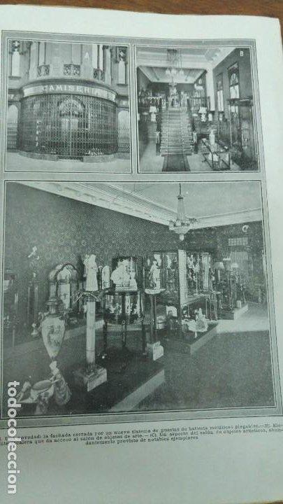 Coleccionismo de Revistas y Periódicos: COMAS Y Cª NUEVO ESTABLECIMIENTO BARCELONA NOVEDADES CAMISERIA ABANICOS PERFUMERIA REVISTA AÑO 1913 - Foto 3 - 194237051