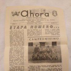 Coleccionismo de Revistas y Periódicos: CN AHORA BOLETÍN ESCUELAS NTRA SRA ROSARIO Y SAN ANTONIO.LA VIÑA,CÁDIZ.1960.FRANCISCO GUERRERO PEREI. Lote 194245508