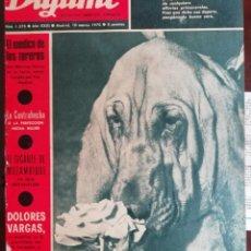 Coleccionismo de Revistas y Periódicos: DIGAME Nº1445 1967 EL TRAJEDE LABRADORA VALENCIANA-DIANIK ZURAKOWSKA -JOSE ANTONIO SANZ DOMINGUEZ. Lote 194246268