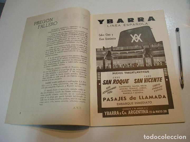 Coleccionismo de Revistas y Periódicos: FALLA FALLAS DE VALENCIA EL FALLERO DE PLATA 1960 BUEN ESTADO FOTOS DE TODAS LAS HOJAS - Foto 4 - 194248790