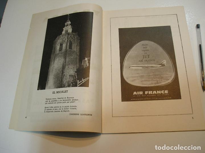 Coleccionismo de Revistas y Periódicos: FALLA FALLAS DE VALENCIA EL FALLERO DE PLATA 1960 BUEN ESTADO FOTOS DE TODAS LAS HOJAS - Foto 5 - 194248790