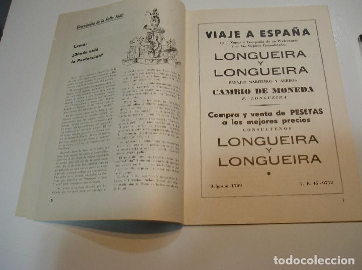 Coleccionismo de Revistas y Periódicos: FALLA FALLAS DE VALENCIA EL FALLERO DE PLATA 1960 BUEN ESTADO FOTOS DE TODAS LAS HOJAS - Foto 6 - 194248790