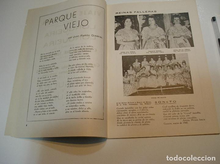 Coleccionismo de Revistas y Periódicos: FALLA FALLAS DE VALENCIA EL FALLERO DE PLATA 1960 BUEN ESTADO FOTOS DE TODAS LAS HOJAS - Foto 7 - 194248790