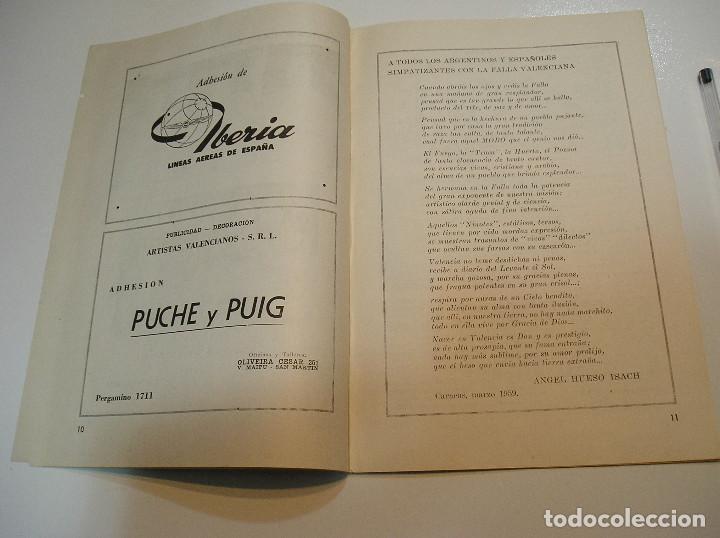 Coleccionismo de Revistas y Periódicos: FALLA FALLAS DE VALENCIA EL FALLERO DE PLATA 1960 BUEN ESTADO FOTOS DE TODAS LAS HOJAS - Foto 8 - 194248790