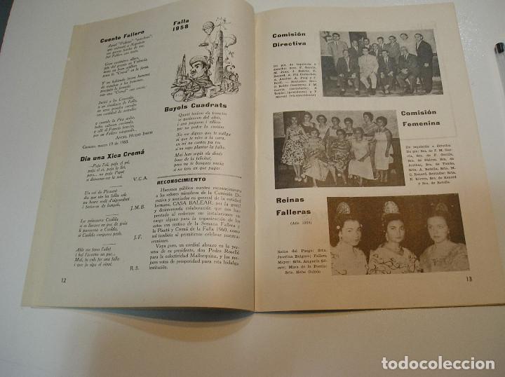 Coleccionismo de Revistas y Periódicos: FALLA FALLAS DE VALENCIA EL FALLERO DE PLATA 1960 BUEN ESTADO FOTOS DE TODAS LAS HOJAS - Foto 9 - 194248790
