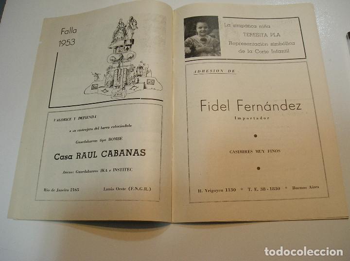 Coleccionismo de Revistas y Periódicos: FALLA FALLAS DE VALENCIA EL FALLERO DE PLATA 1960 BUEN ESTADO FOTOS DE TODAS LAS HOJAS - Foto 10 - 194248790