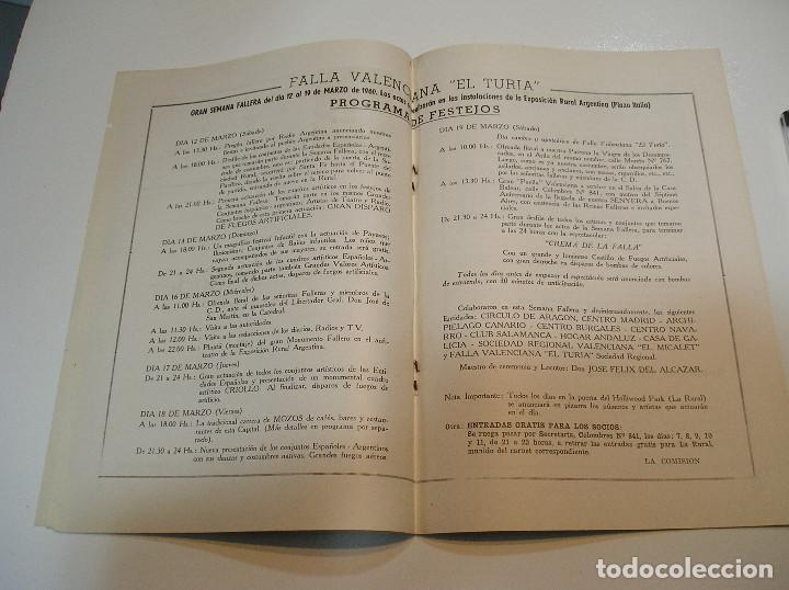 Coleccionismo de Revistas y Periódicos: FALLA FALLAS DE VALENCIA EL FALLERO DE PLATA 1960 BUEN ESTADO FOTOS DE TODAS LAS HOJAS - Foto 11 - 194248790