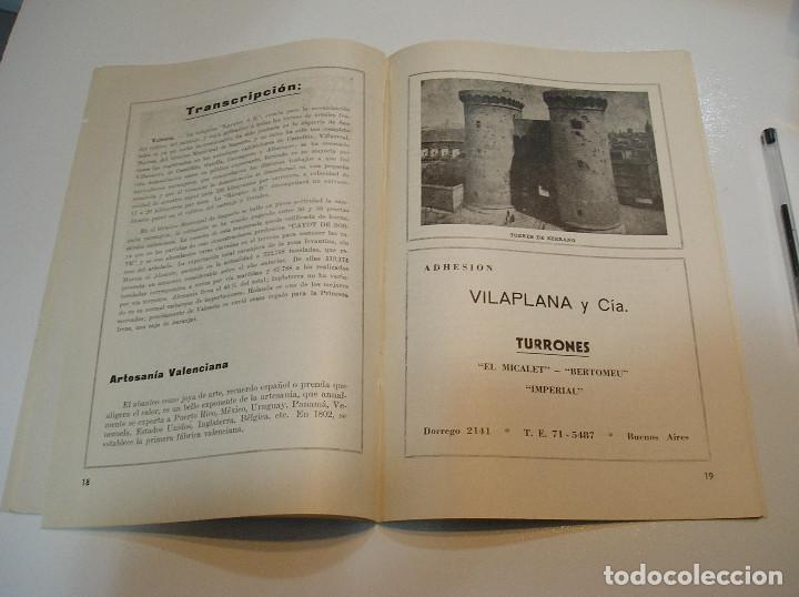 Coleccionismo de Revistas y Periódicos: FALLA FALLAS DE VALENCIA EL FALLERO DE PLATA 1960 BUEN ESTADO FOTOS DE TODAS LAS HOJAS - Foto 12 - 194248790