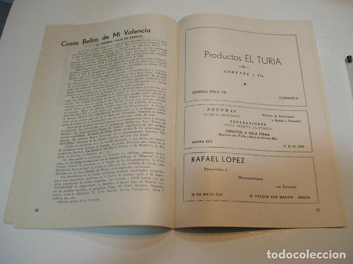 Coleccionismo de Revistas y Periódicos: FALLA FALLAS DE VALENCIA EL FALLERO DE PLATA 1960 BUEN ESTADO FOTOS DE TODAS LAS HOJAS - Foto 13 - 194248790