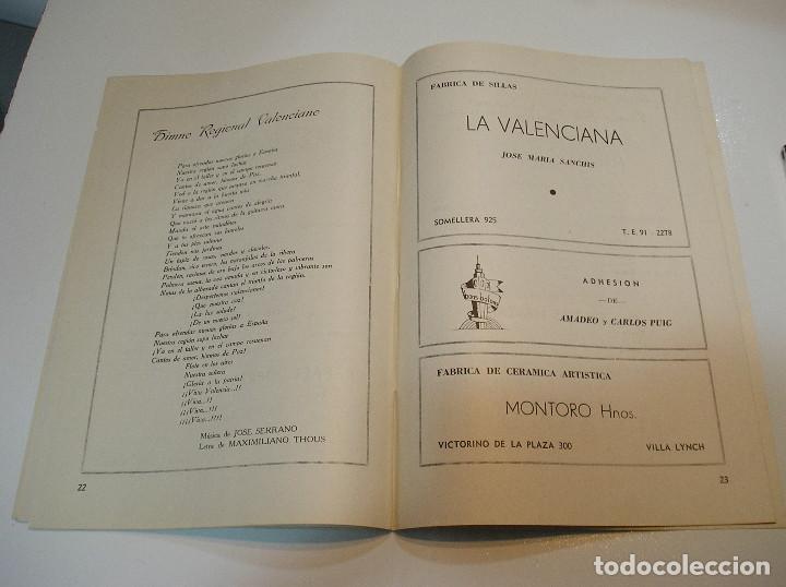 Coleccionismo de Revistas y Periódicos: FALLA FALLAS DE VALENCIA EL FALLERO DE PLATA 1960 BUEN ESTADO FOTOS DE TODAS LAS HOJAS - Foto 14 - 194248790
