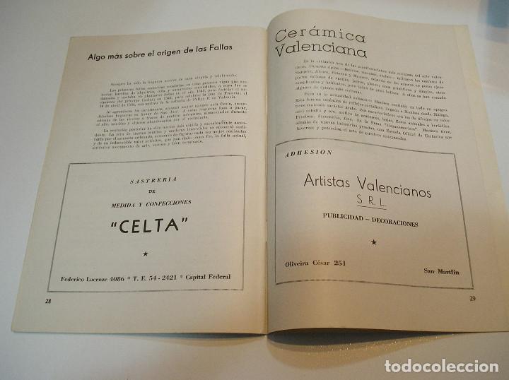 Coleccionismo de Revistas y Periódicos: FALLA FALLAS DE VALENCIA EL FALLERO DE PLATA 1960 BUEN ESTADO FOTOS DE TODAS LAS HOJAS - Foto 17 - 194248790