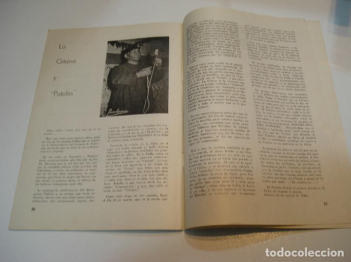 Coleccionismo de Revistas y Periódicos: FALLA FALLAS DE VALENCIA EL FALLERO DE PLATA 1960 BUEN ESTADO FOTOS DE TODAS LAS HOJAS - Foto 18 - 194248790