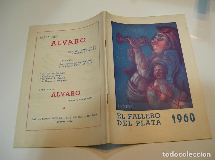 FALLA FALLAS DE VALENCIA EL FALLERO DE PLATA 1960 BUEN ESTADO FOTOS DE TODAS LAS HOJAS (Coleccionismo - Revistas y Periódicos Modernos (a partir de 1.940) - Otros)