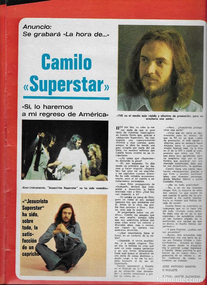 Coleccionismo de Revistas y Periódicos: REVISTA TELE RADIO Nº 951, 15-21 MARZO 1976, CLAUDIA CARDINALE, CARMEN MAURA, CAMILO SESTO - Foto 3 - 194249128