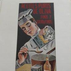 Coleccionismo de Revistas y Periódicos: PUBLICIDAD ACEITE PURO DE OLIVA LA GIRALDA .AÑO 1916 28 X 21 CM. Lote 194250161