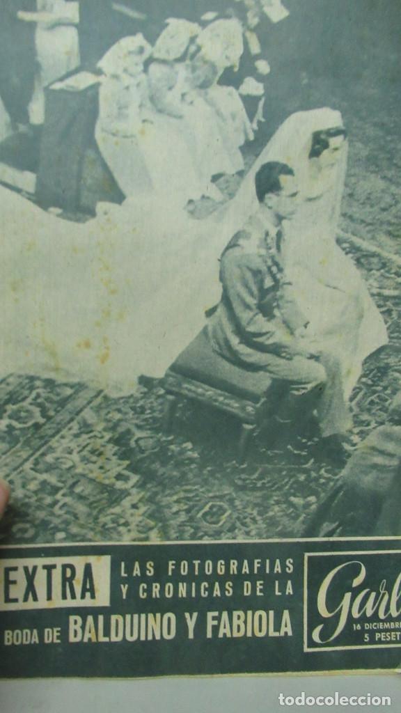 REVISTA GARBO EXTRA. BODA DE FABIOLA Y BALDUINO 16 DICIEMBRE 1960 (Coleccionismo - Revistas y Periódicos Modernos (a partir de 1.940) - Otros)