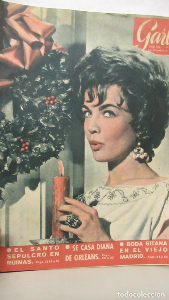 REVISTA GARBO ENº 354 BODA DE DIANA DE ORLEANS. 16 DICIEMBRE 1960 (Coleccionismo - Revistas y Periódicos Modernos (a partir de 1.940) - Otros)