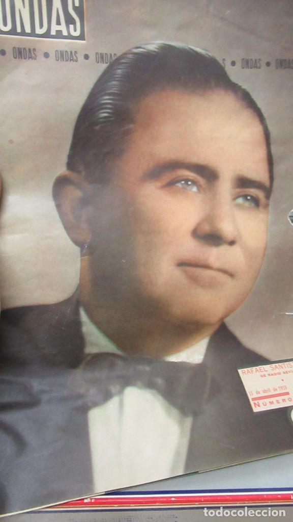 REVISTA ONDAS NUMERO 153 RAFAEL SANTIESTEBAN (Coleccionismo - Revistas y Periódicos Modernos (a partir de 1.940) - Otros)