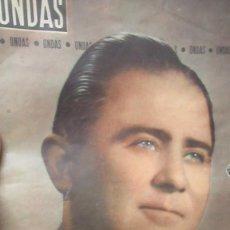 Coleccionismo de Revistas y Periódicos: REVISTA ONDAS NUMERO 153 RAFAEL SANTIESTEBAN. Lote 194253036