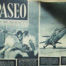 Coleccionismo de Revistas y Periódicos: REVISTA PASEO Nº 11. . Lote 194253157