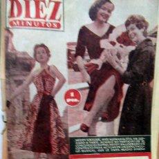 Coleccionismo de Revistas y Periódicos: REVISTA 10 MINUTOS AÑO 1954 NUMERO 155 . Lote 194253253