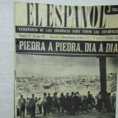Coleccionismo de Revistas y Periódicos: REVISTA EL ESPAÑOL NUMERO 450. Lote 194253376