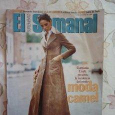 Coleccionismo de Revistas y Periódicos: SUPLEMENTO EL SEMANAL / MODA CAMEL / Nº 468 - 1996. Lote 194260617