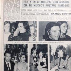 Coleccionismo de Revistas y Periódicos: CAMILO SESTO MARIBEL MARTIN LUCIA BOSE MIGUEL BOSE CONCHA PIQUER CURRO ROMERO. Lote 194264182