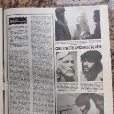 Coleccionismo de Revistas y Periódicos: CAMILO SESTO. Lote 194264188
