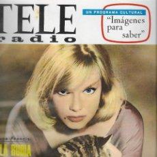 Coleccionismo de Revistas y Periódicos: REVISTA TELE RADIO Nº 466, 28 NOVIEMBRE - 4 DICIEMBRE 1966, ANNE FRANCIS, JULITA MARTINEZ . Lote 194267887