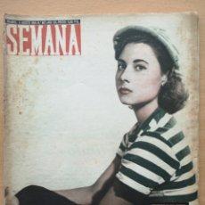 Coleccionismo de Revistas y Periódicos: REVISTA SEMANA Nº 807 1955 MARÍA DEL CARMEN GERMADE AMENEDO. SUDÁN. VIRGEN DE LOS REYES.. Lote 194278338