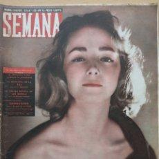 Coleccionismo de Revistas y Periódicos: REVISTA SEMANA Nº 1031 1959 CARMEN SÁINZ DE LA MAZA.PERRO CARLINO. JIJONENCA. Lote 194278565